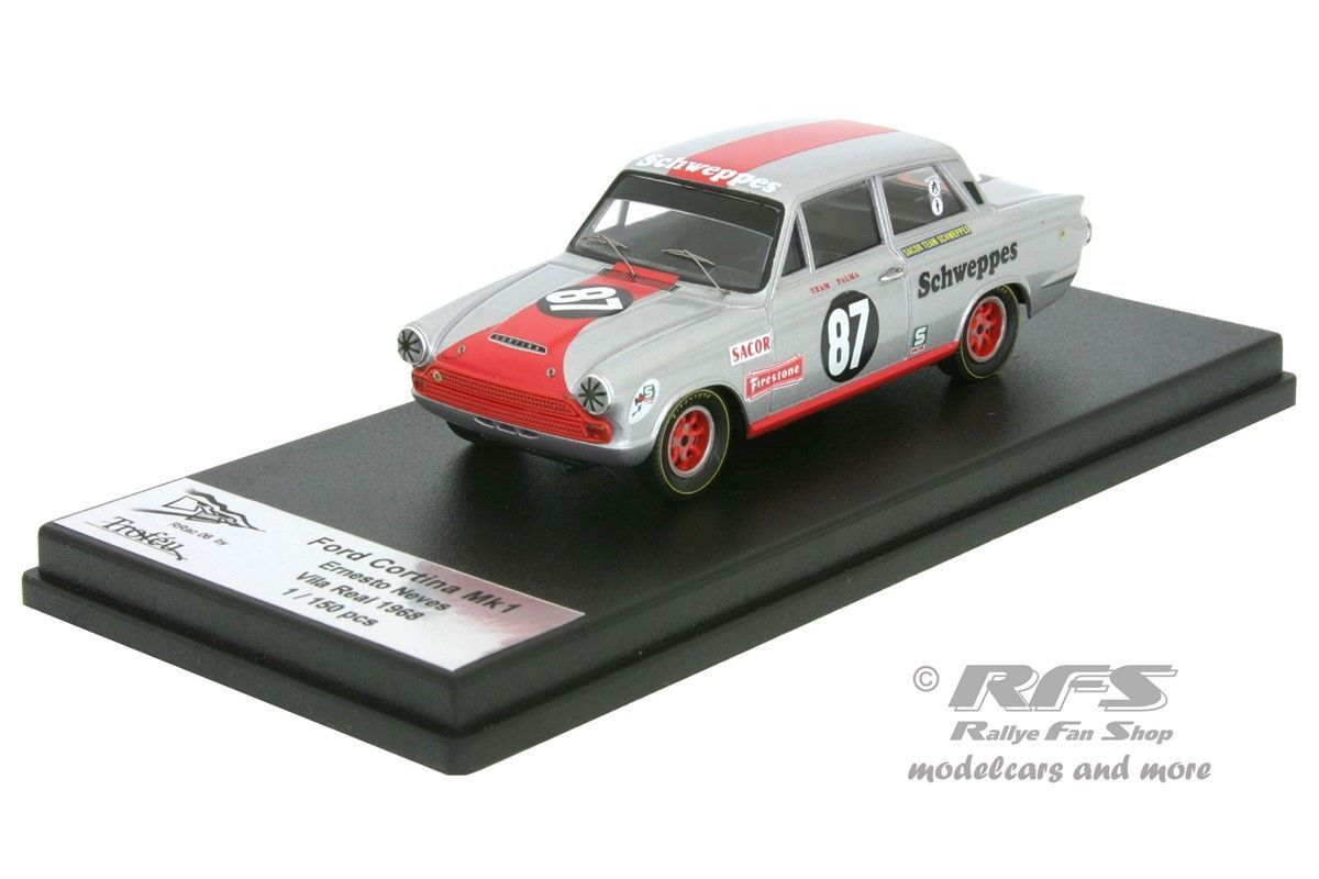 Ford Cortina Mk I Ernesto Neves GP Vila Real 1968 1 43 Trofeu RRAC 06