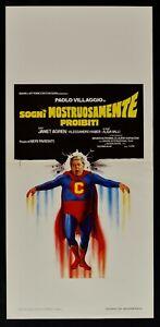Plakat-Traeume-Ungeheuer-Verbotene-Paul-Dorf-Superman-Fantozzi-L159