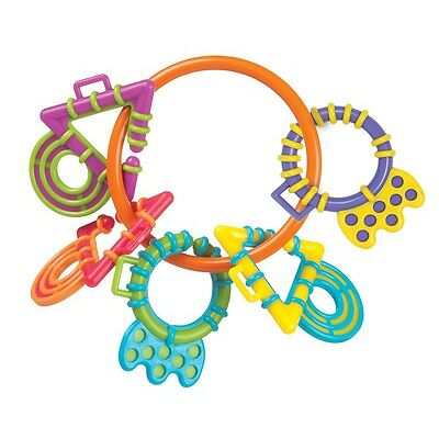 New Playgro My First Chewy Links Teether Rings Baby Toy