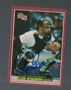 Lance Parrish Detroit Tigers 1984 Donruss Action All Star Card W/Our COA
