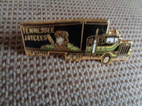 "Jaycees Pioneer Truck Hat Pin 1 3//4/"" long---Lapel Pin Tn"