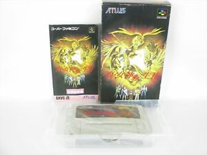 SHIN-MEGAMI-TENSEI-II-2-Item-ref-ccc-Super-Famicom-Nintendo-Japan-Game-sf