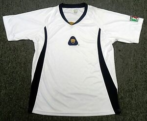 b14828bb9 Image is loading Official-Licensed-Rhinox-Pumas-UNAM-Jersey-Color-White-