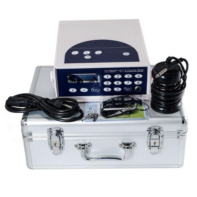 Detox Foot Bath Spa Machine Kit Cell Ion Ionic Aqua W Case Cleanse Fir Belt For Sale Online Ebay