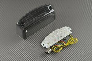 Feu arrière fumé clignotant intégré tail light Toutes Buell X1 Lightning