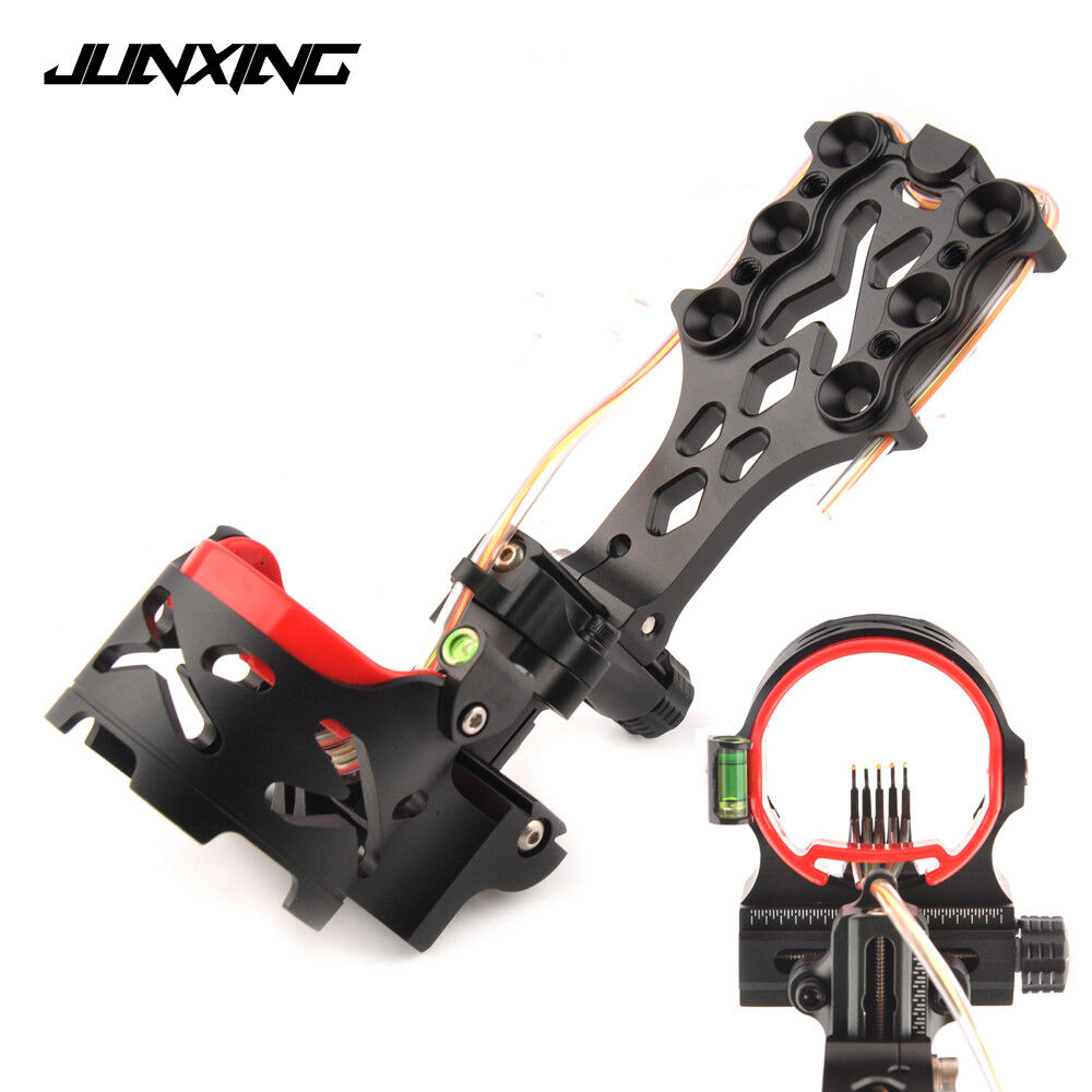 5 Pin with Sight Light Adjustable Sightfor Archery Hunting Shooting Compound Bow