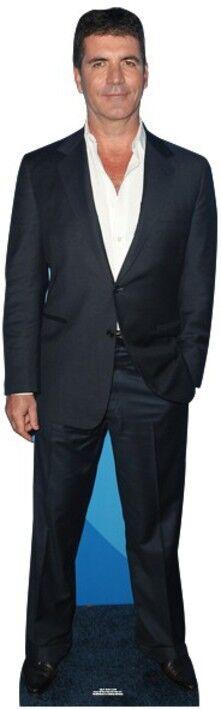 Simon Cowell Lebensechte Größe Pappfigur Aufsteller Standfiguren Tv Popstar   Hohe Qualität    Guter weltweiter Ruf