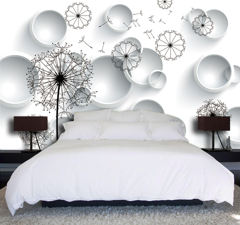 3D Pissenlit 212 Photo Papier Peint en Autocollant Murale Plafond Chambre Art