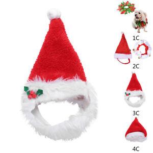 bca1146bb5b1c ... Noel-Animal-Costume-Chapeau-Santa-Echarpe-Collier-Cloche-. Image non  disponible Photos non disponibles pour ...