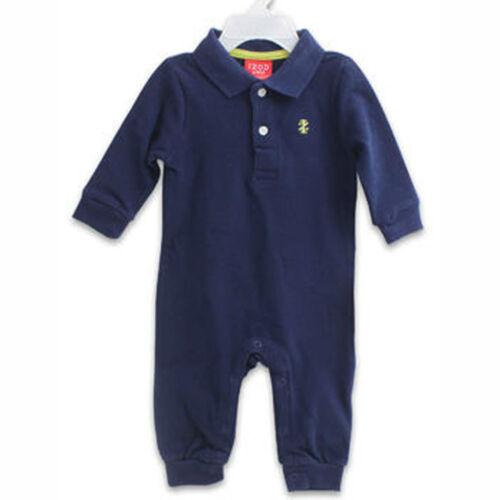 IZOD Baby Infant newborn Boy Outfit Cotton jumpsuit bodysuit rompers clothes