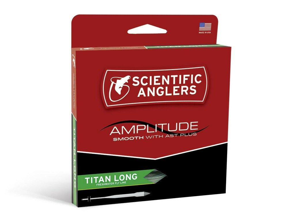 Scientific Anglers Amplitude Smooth Titan Long Fly Line - WF10F