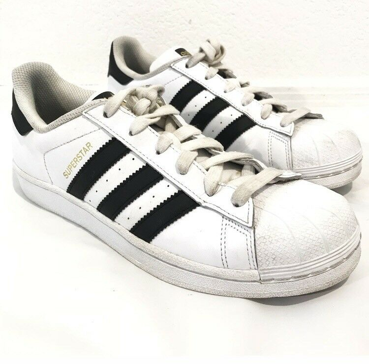 Adidas Originals Superstar White Shelltoe Low Top Sneakers Shoes 7 best-selling model of the brand