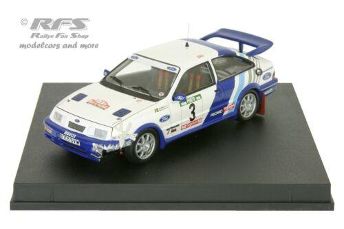 Rallye Portugal 1988 Ford Sierra RS Cosworth crashed Blomqvist 1:43 Trofeu