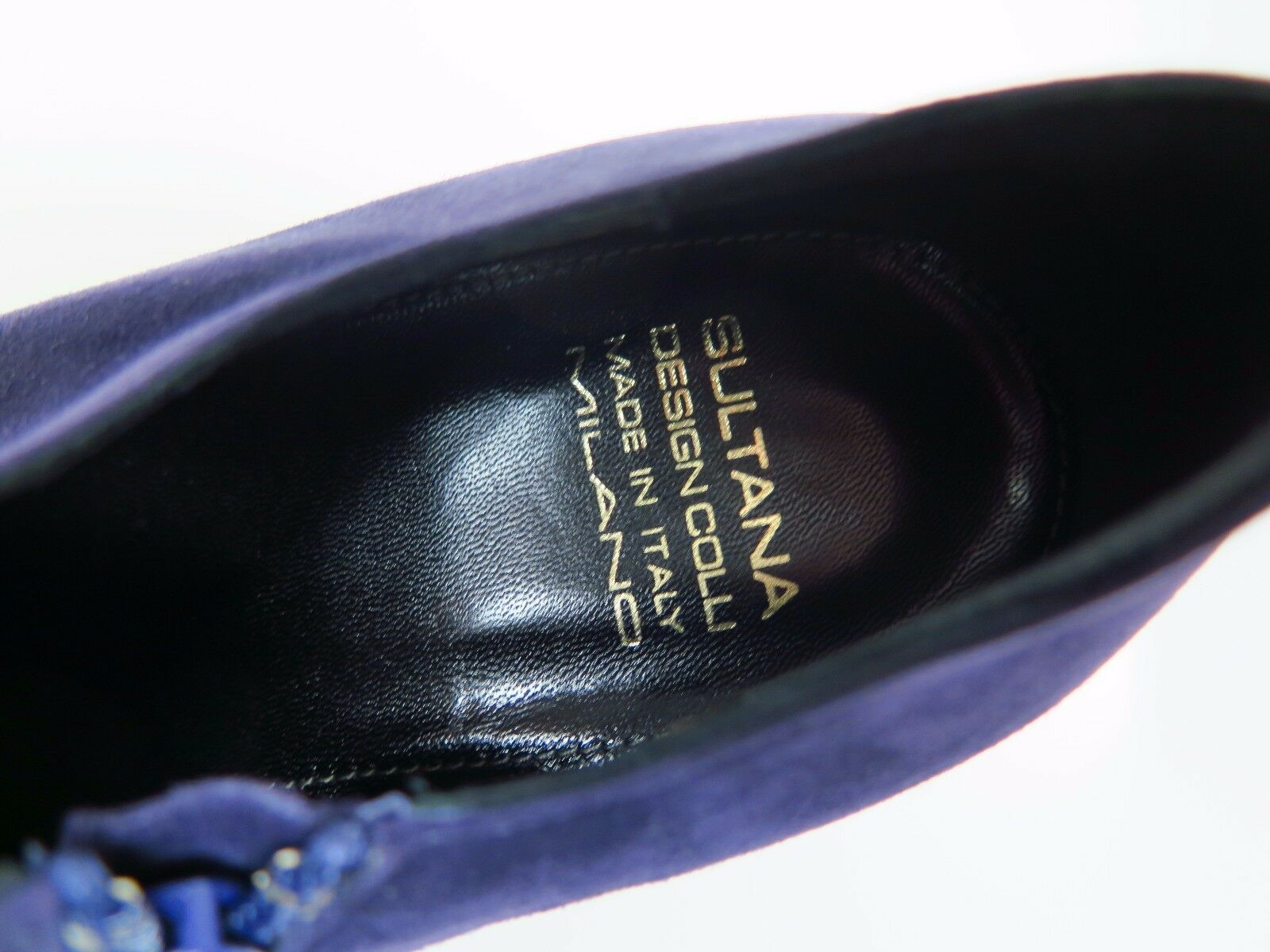 SULTANA  Damenschuhe Amber Stiefeletten Stiefel Leder N4257 Amber Damenschuhe Lila Gr. 39 NEU 0ef368