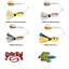 Strike King Spinnerbaits Rocket Shad 1//2oz Pick Any Color RS12 Fishing Lures