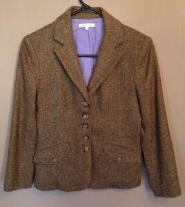 Blazer Designer Tweed jakke 4 Women's Vince Size 1XUxqfwZn