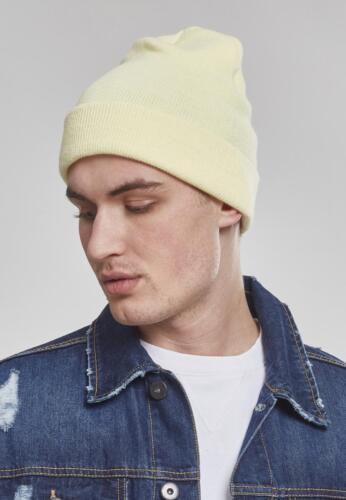 Flexfit Heavyweight Beanie Premium Long Knitted Cap Wool Hat Winter Hat
