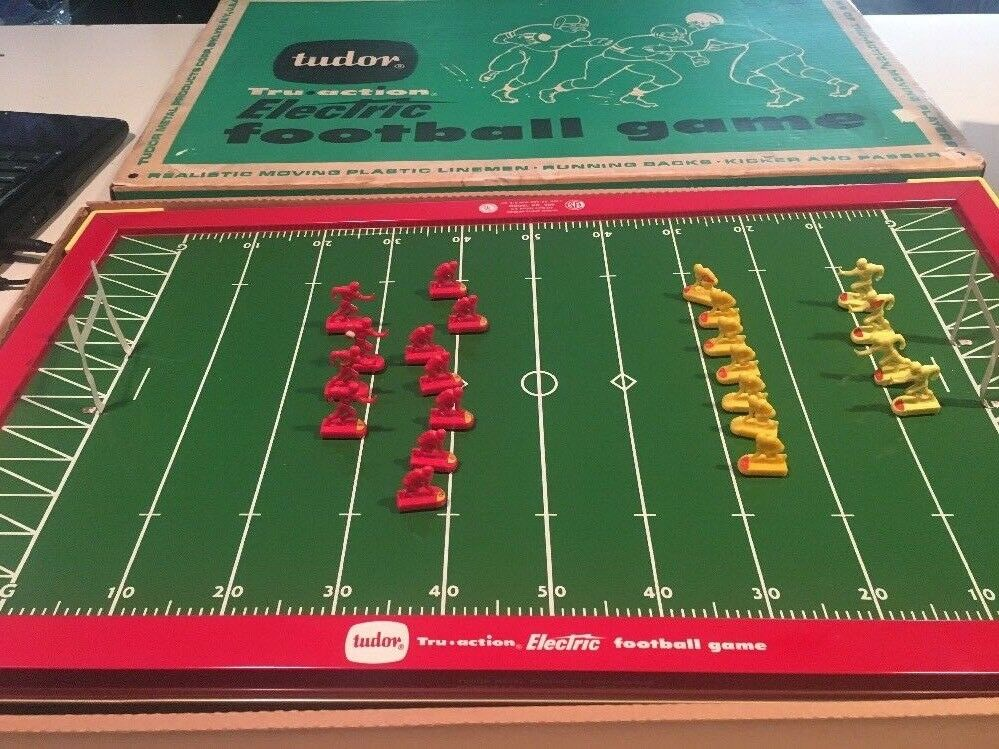 Vintage Tudor Electric Football Game No. 500 with Box