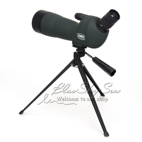 Adaptador Trípode GOMU 20-60x60 Zoom Spotting Scope Monocular Caja de bolsa