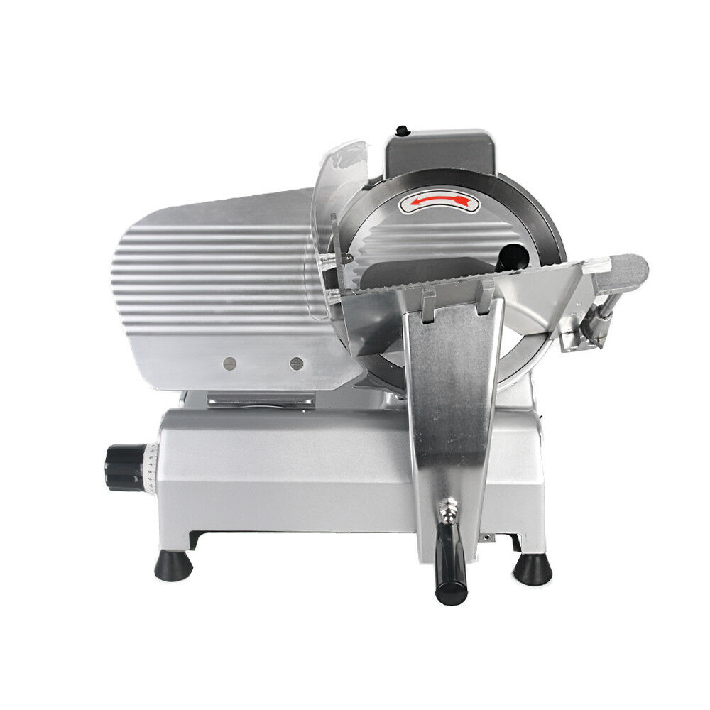 10  Commercial Meat Slicers Deli Slicer Cheese Slicer Semi-auto Stainless Steel
