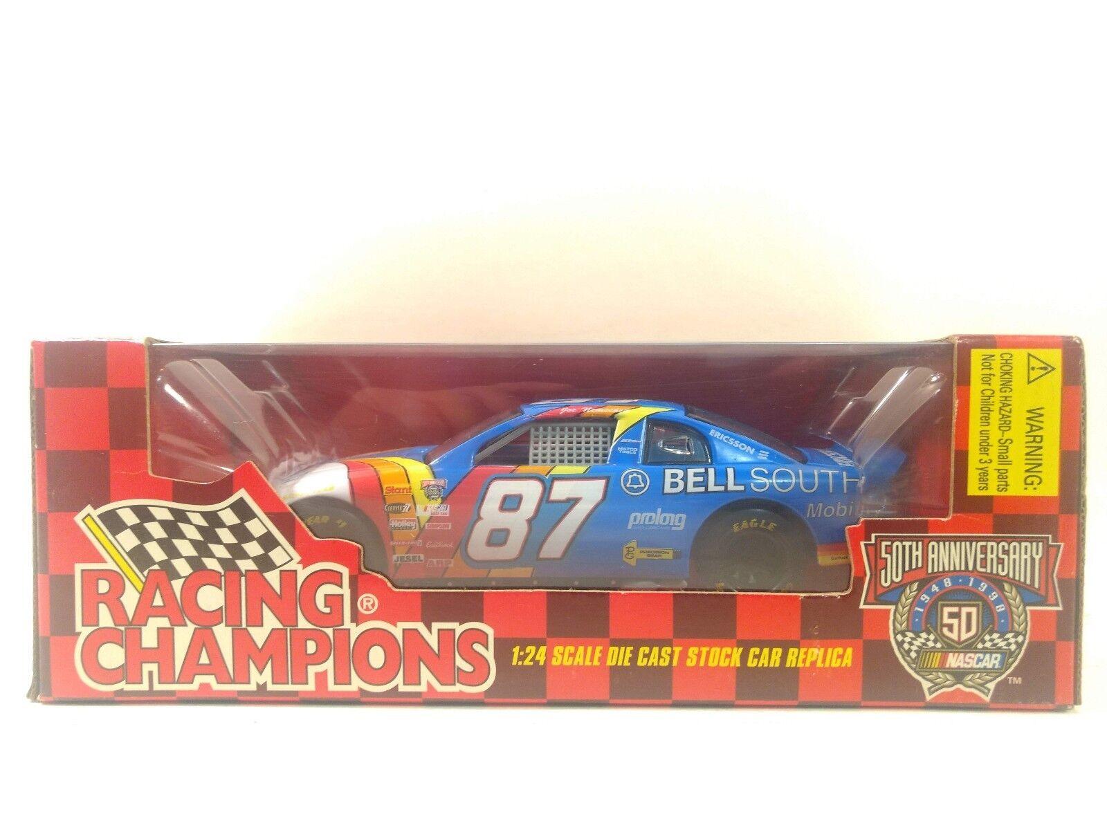 Racing Champions Nascar Cloche Sud Joe Nemechek 1 24 à L'Échelle Miniature