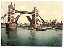 Tower Bridge Ii Closed London A4 Photo Print