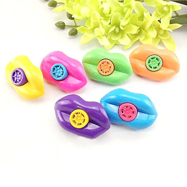 15 PCS Plastic Mouth Lip Siren Whistle ideal for Birthday Party Favors Gift Game