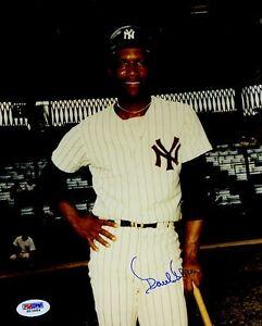 Paul Blair Yankees Signed Psa/dna Certed 8x10 Photo Authentic Autograph