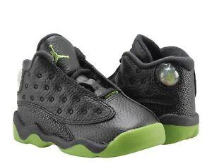 d6b03e3b17c22a Nike Air Jordan 13 Retro BT Black Altitude Toddler Basketball Shoes ...