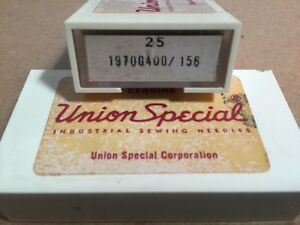 Union Special 1970G400/ 156, Sewing Machine Needles (Box of 25)