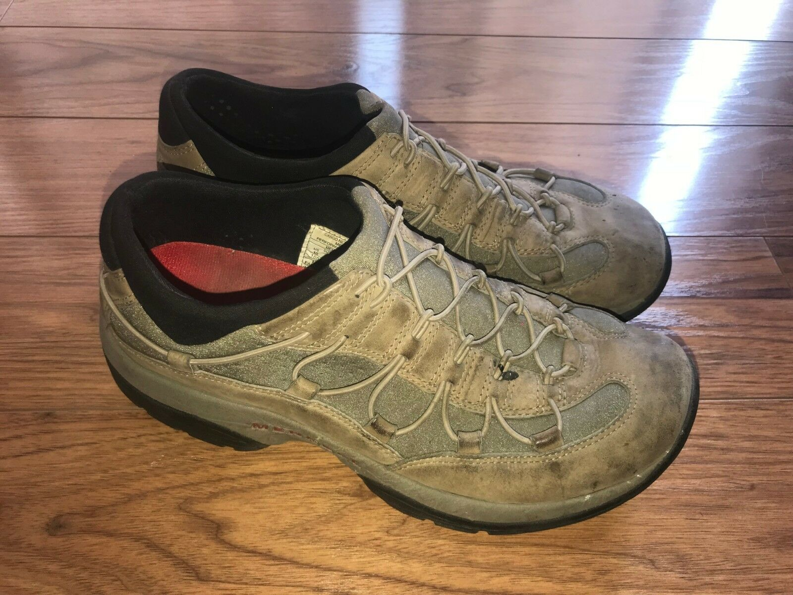 Merrell net moc taupe mens shoes size 10 US