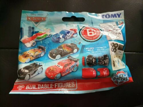 Gatch Disney Cars Ice Racer Buildable Figures Blind Bags