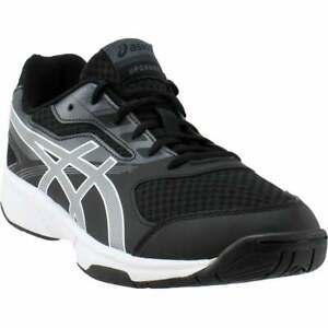 ASICS Upcourt  Mens Volleyball Sneakers Shoes Casual   - Black