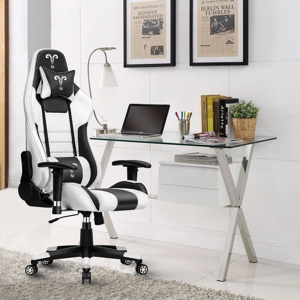 Furgle Pro Gaming Chair Office Chair Ergonomic Leather Boss Chair – 3 Colors