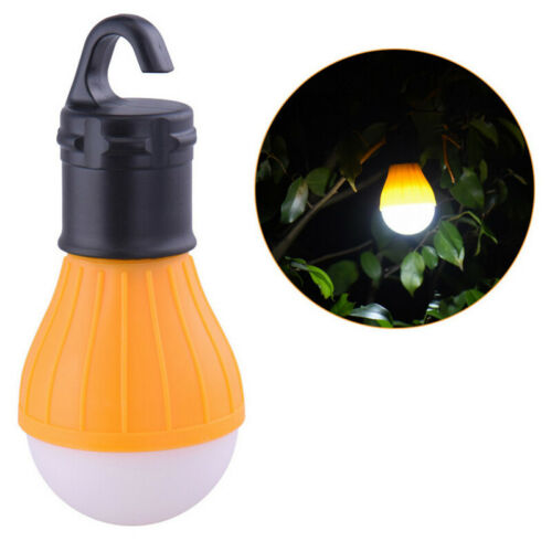 Portable Hanging LED Camping Tent Light Bulb Outdoor Hanging Fishing Lantern