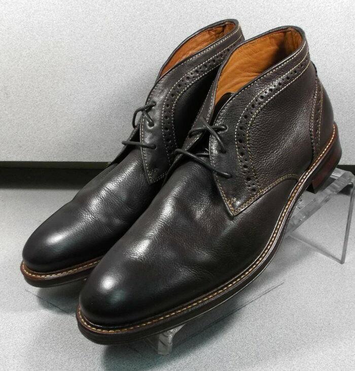 203874 WTBT 40 Zapatos de hombre M Marrón Cuero botas Johnston Murphy Walk prueba