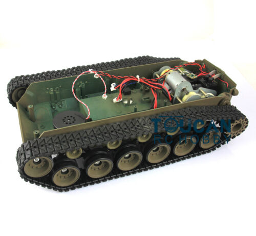 Henglong 1//16 Road Wheels Idlers Gearbox Pershing M26 Tank 3838 Plastic Chassis