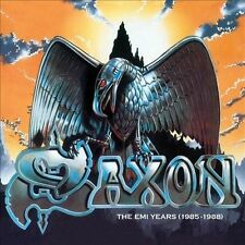 SAXON 4CD set The EMI Years (1985-1988) ( Apr.- 2010)