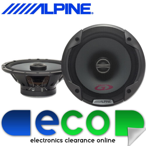 """Alpine SPG-17C2 6.5/"""" 17cm 2 Way 480 Watts a Pair Car Van Door Coaxial Speakers"""