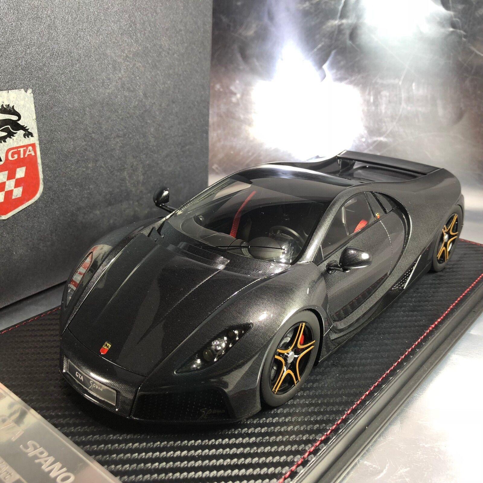 1 18 Frontiart  F029-28 GTA Speno Shiny Carbon Ltd 100 pcs