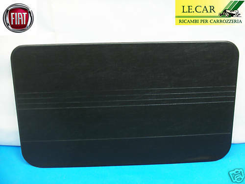 1 PANNELLO PORTA INTERNO LISCIO NERO FIAT 500 F