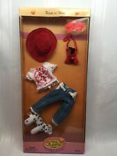 Doll Clothes ONLY HEARTS CLUB OUTFIT JEANS HEART SHIRT HAT PURSE SHOES 00207 B5