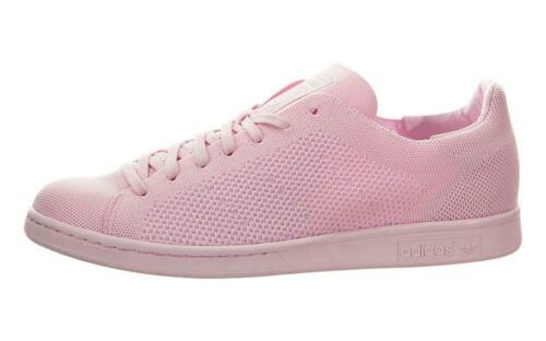 Men/'s adidas Stan Smith Primeknit /'Semi Pink Glow/' S80064 Size 9.5 US