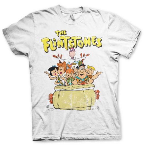 Officially Licensed The Flintstones Men/'s T-Shirt S-XXL Sizes