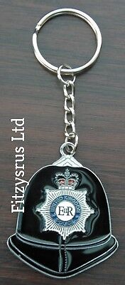 Policemans Helmet Police Copper Bobby CSO Officer Cufflinks Present Gift Box
