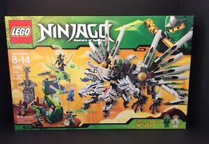 LEGO-9450-Ninjago-Epic-Dragon-Battle-Green-Ninja-LLOYD-ZX-7-mini-figs-New