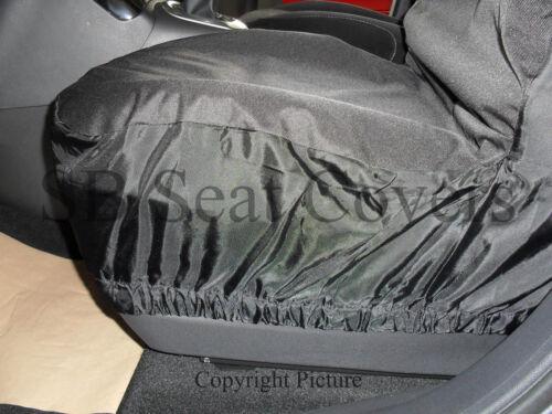 DELUXE WATERPROOF BLACK FULL SET SEAT COVERS SEMI FIT A TOYOTA RAV4 CAR i