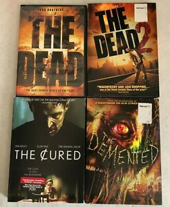 Lot-4-Zombie-Horror-DVD-Movies-The-Dead-1-amp-2-The-Demented-The-Cured