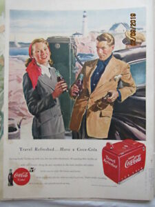1949 Vintage Coca-Cola ad LIFE magazine