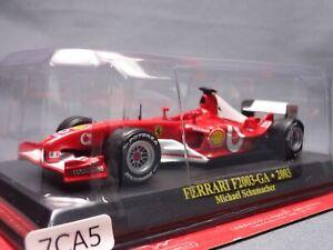 Ferrari-Collection-F1-F2003-GA-2003-1-43-Scale-Mini-Car-Display-Diecast-5